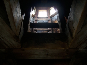 3rd and upper-most level of the Blockhouse