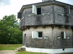 Fort Edgecomb Blockhouse (entrance to left)