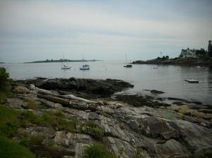 Sailboats along Fisherman's Passage