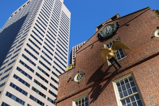 Old State House and New